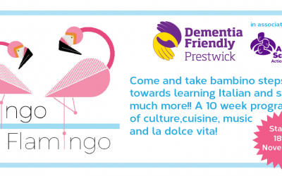 Lingo Flamingo: Italian for beginners is coming to Prestwick