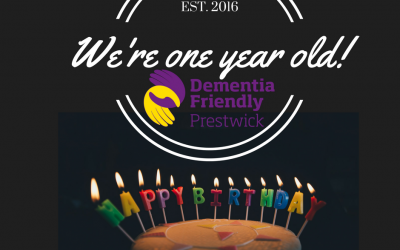 We're One Year Old!