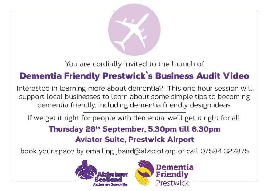 Event for Prestwick Businesses
