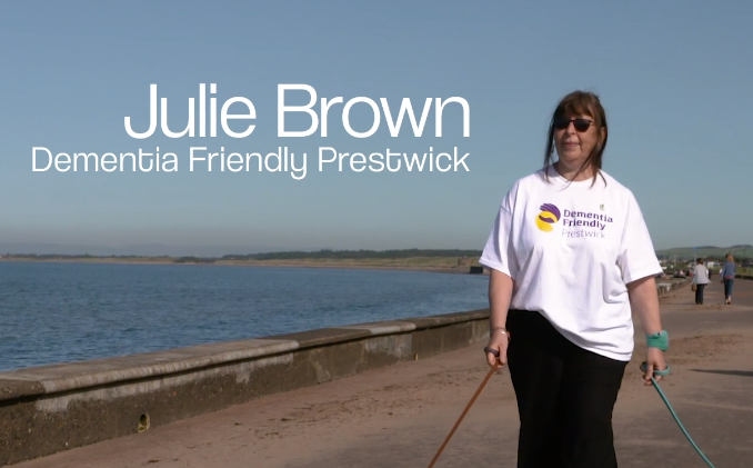 Dementia Friendly Promenade – Julie B
