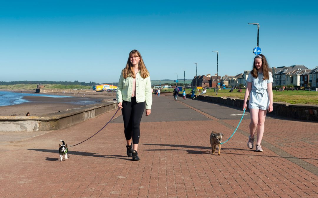 Dementia Friendly Promenade – Jennifer and Libby