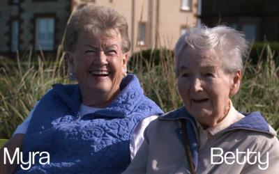 Dementia Friendly Promenade – Myra and Betty