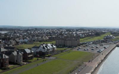 Prestwick Promenade From the Skies
