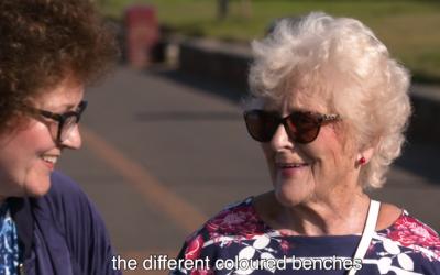 Dementia Friendly Promenade – Angela and Vera