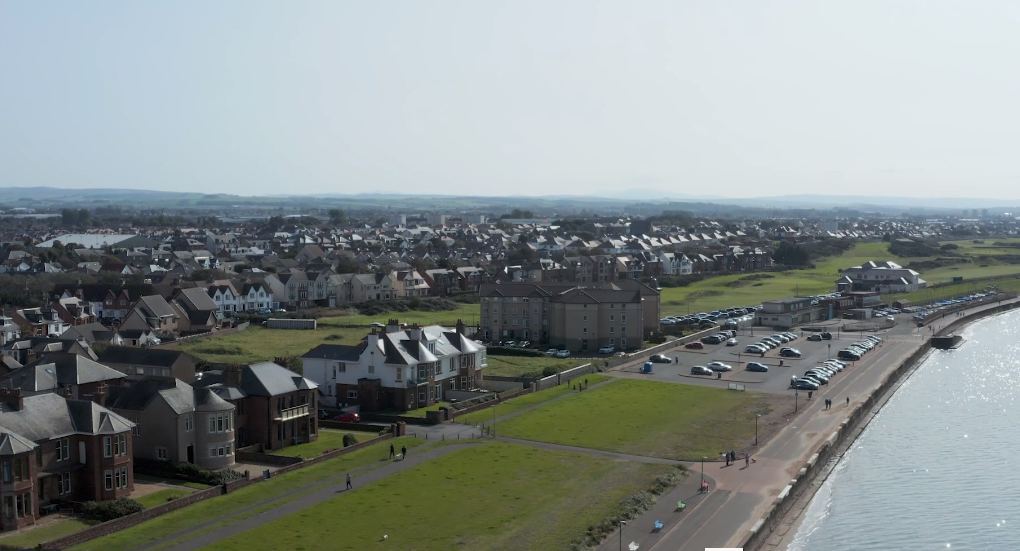 Prestwick Promenade From the Skies